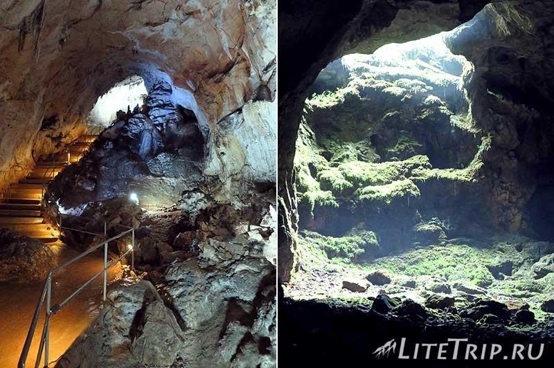 Крым. Мраморная пещера. Вход.