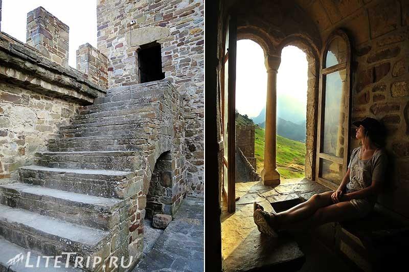 Крым. Судак. Генуэзская крепость. Консульский замок. В башне.