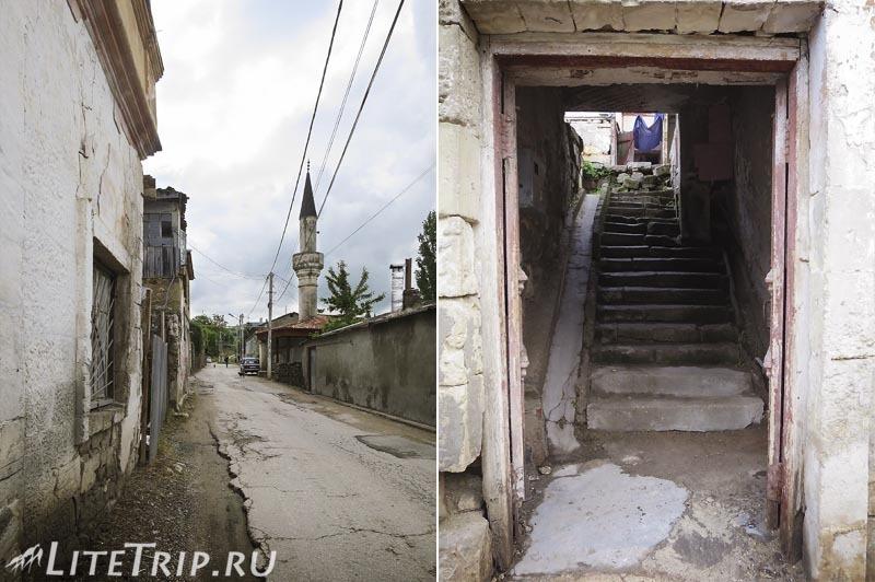 Крым. Улицы и переулки Бахчисарая.