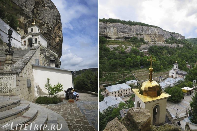 Крым. Бахчисарай. Свято-Успенский монастырь - часовня