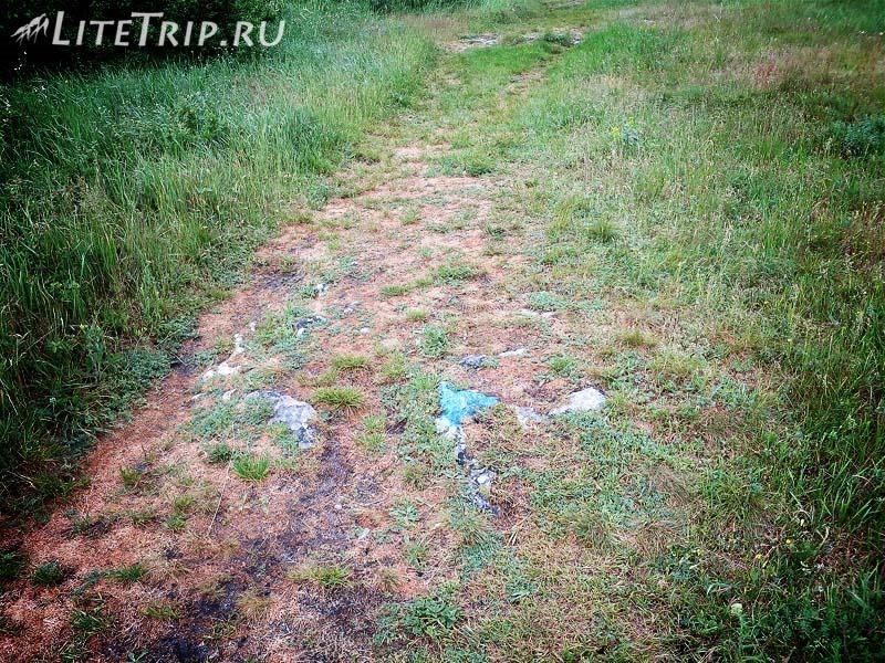 Крым. Бахчисарай. Мангуп-Кале - тропа с синими метками.