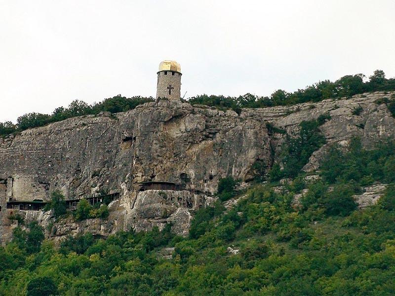 Крым. Бахчисарай. Монастырь Шулдан.