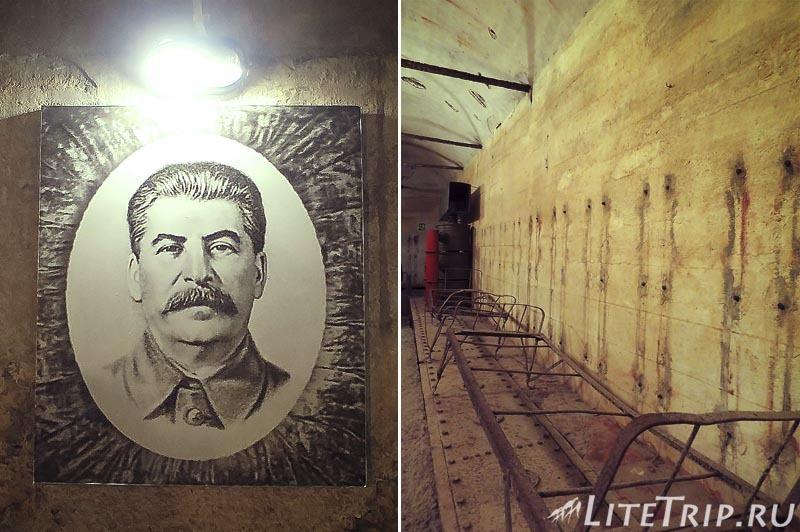 Крым. Севастополь. 35-я батарея. Цитадель - коридоры.