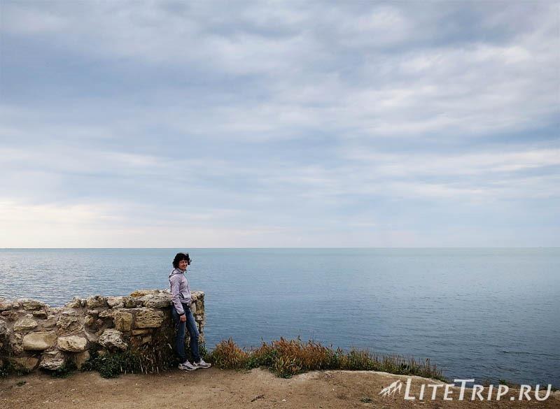 Крым. Севастополь. Херсонес Таврический - море