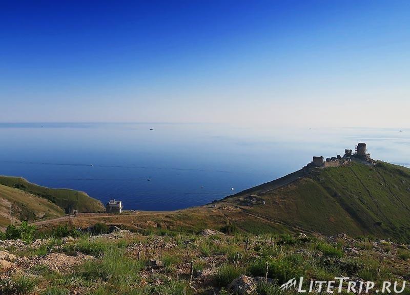 Крым. Балаклава. Генуэзская крепость Чембало.
