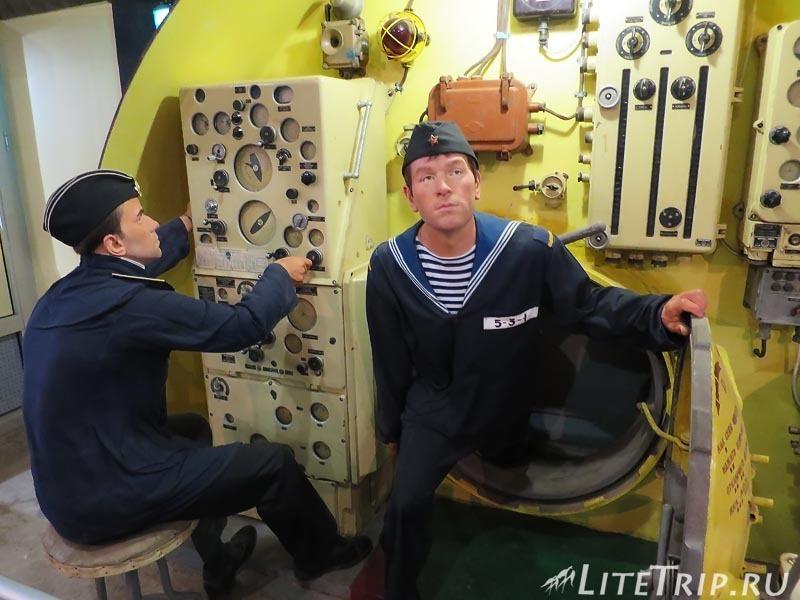 Крым. Балаклава. Музей подводных лодок. Экипаж.