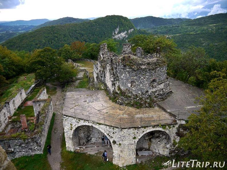 Абхазия. Новый Афон. Анакопийская крепость.
