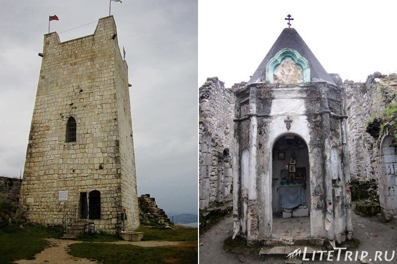 Абхазия. Новый Афон. Анакопийская крепость - церковь.