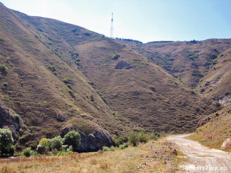 Дорога в Сисиан