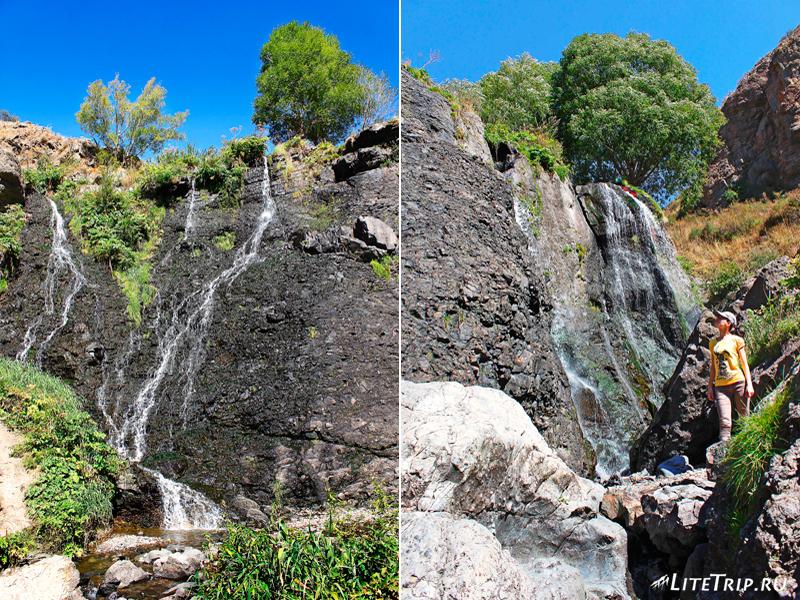 Водопад Шаки в Сисисане