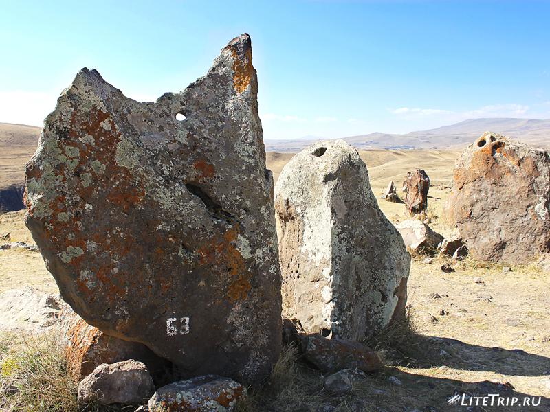 Армянский стоунхендж - Зорац-Карер (Караундж), камни