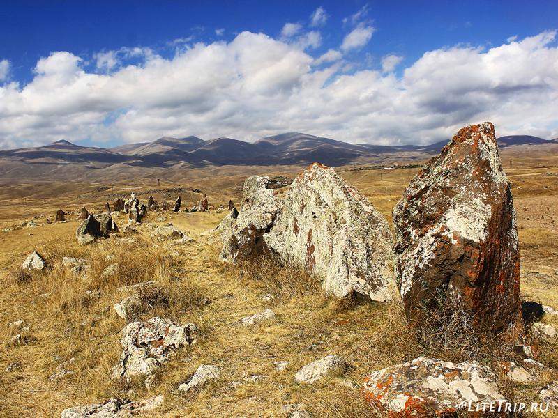 Армянский стоунхендж - Зорац-Карер (Караундж), начало осмотра