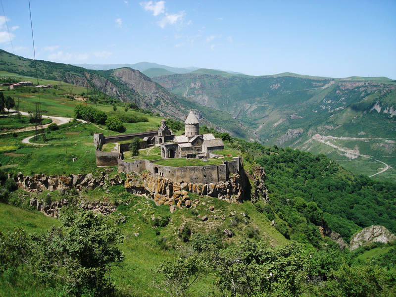 Монастырь Татев, фото из интернета