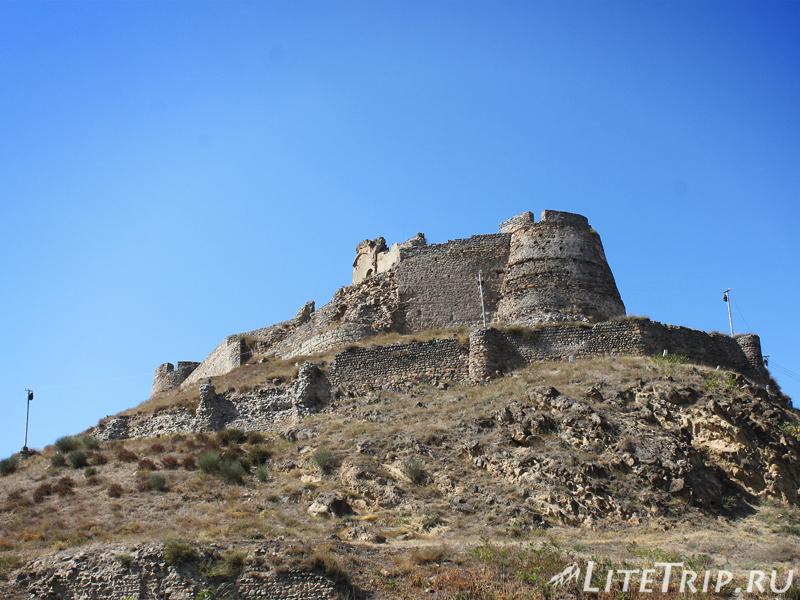 Крепость Горисцихе в Гори