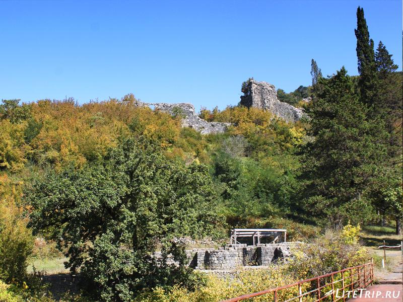 Бани-термы крепости Нокалакеви