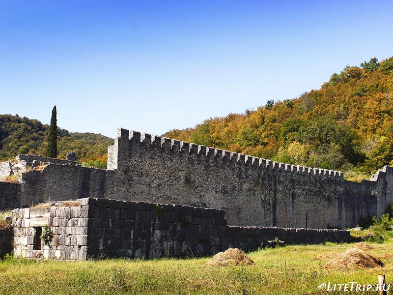 Византийская стена крепости Нокалакеви