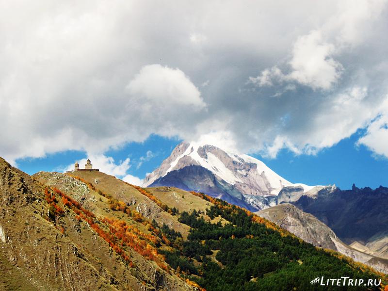 Гора Казбек, военно-грузинская дорога