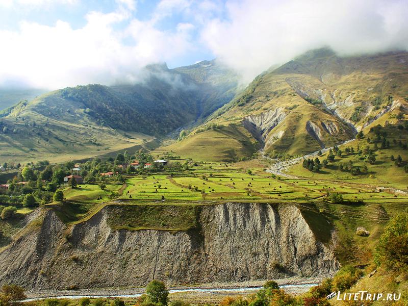 Виды на военно-грузинской дороге
