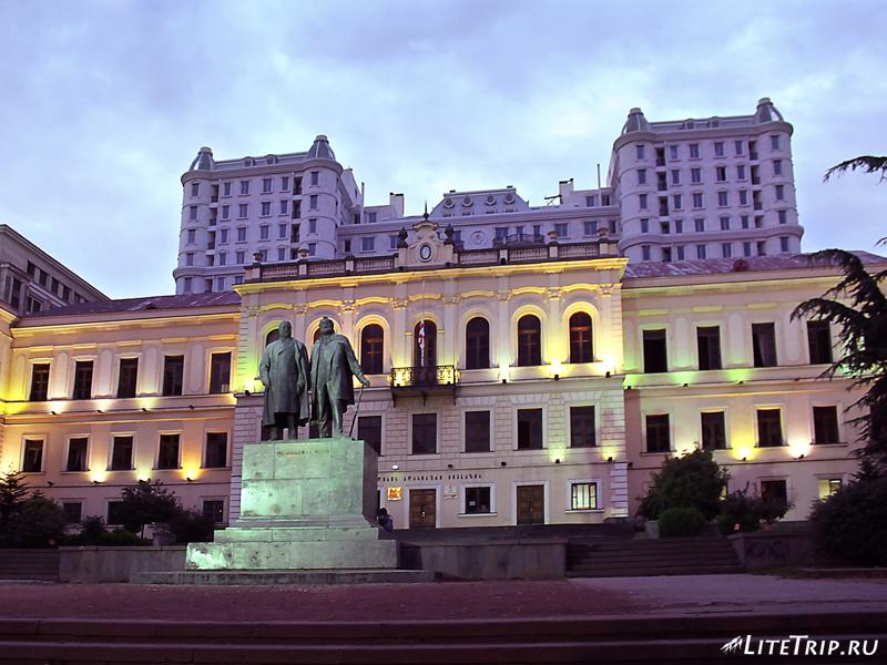 В центре Тбилиси