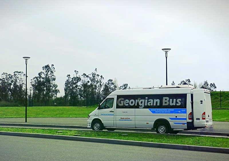 Грузия. Как добраться до Батуми автобусом.