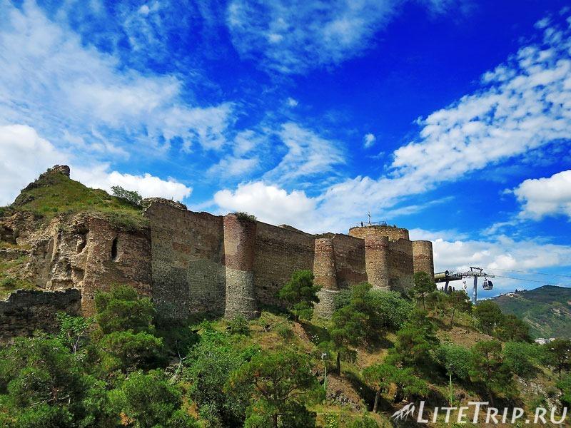 Грузия. Тбилиси. Крепость Нарикала.