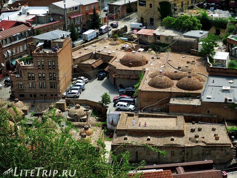 Грузия. Тбилиси. Серные бани Абанотубани.