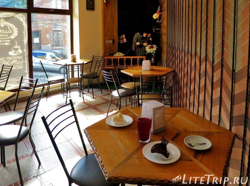 Грузия. Тбилиси. Кафе Саамо.