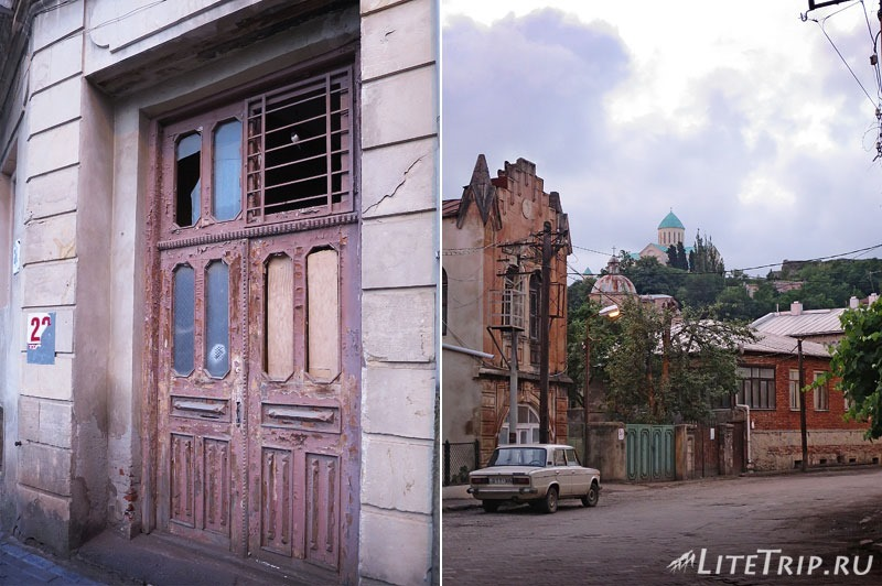 Грузия. Кутаиси. Улицы города.