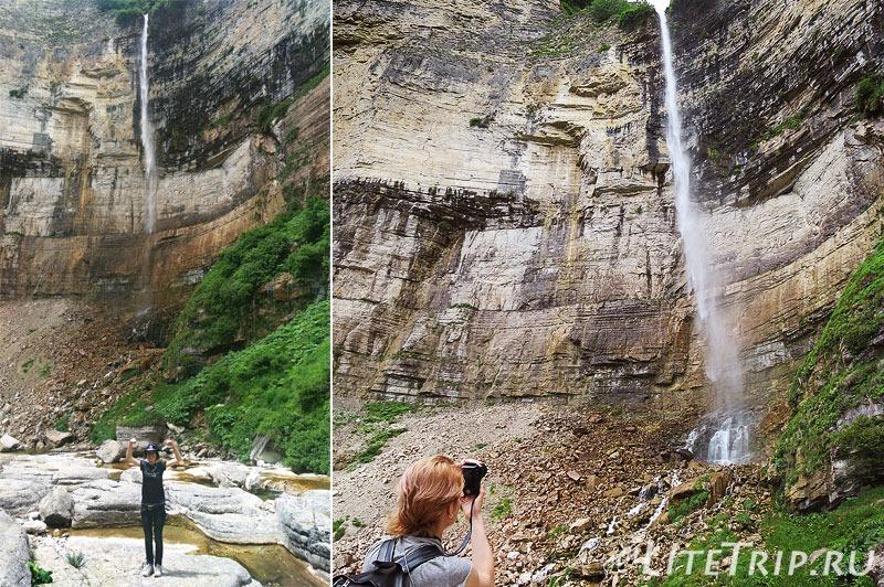 Грузия. Водопады Кинчха. Фотосессия.