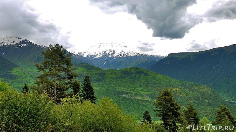 Грузия. Сванетия. Поход к озерам Корульди. Горы