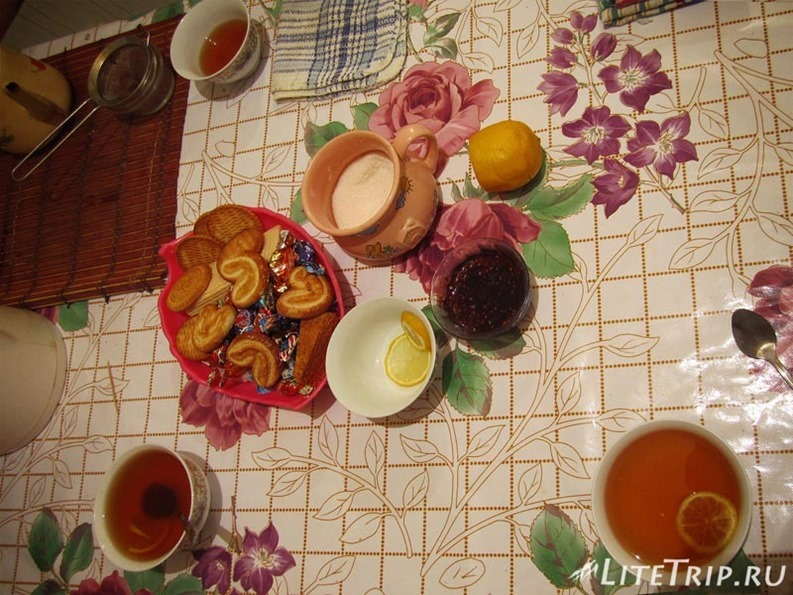 Казахстан. Чаепитие в гостеприимном доме - Кульсары.