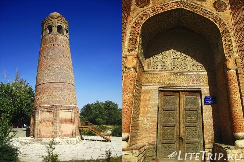 Киргизия. Узген. Мавзолей династии Караханидов - двери.