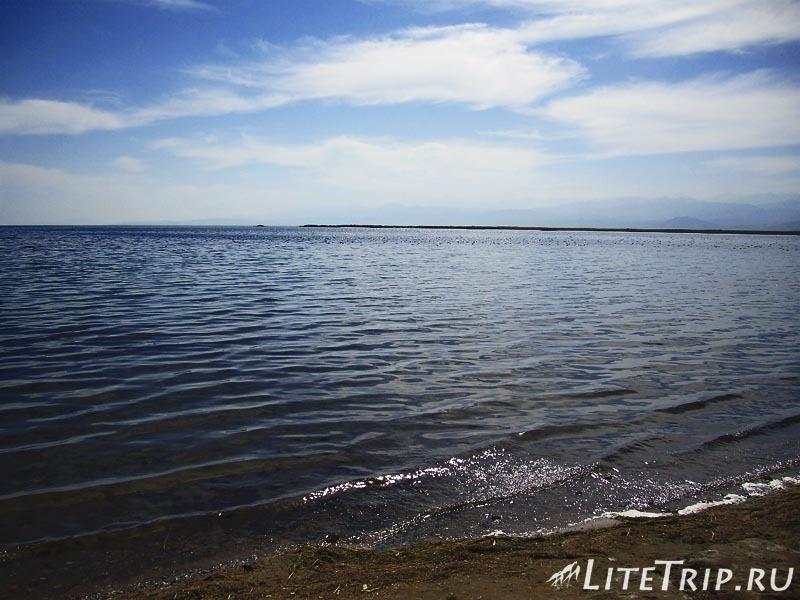 Киргизия. Озеро Иссык-Куль.