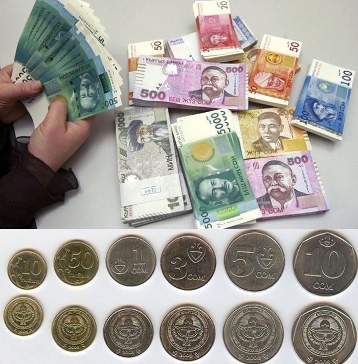 Валюта Киргизии.