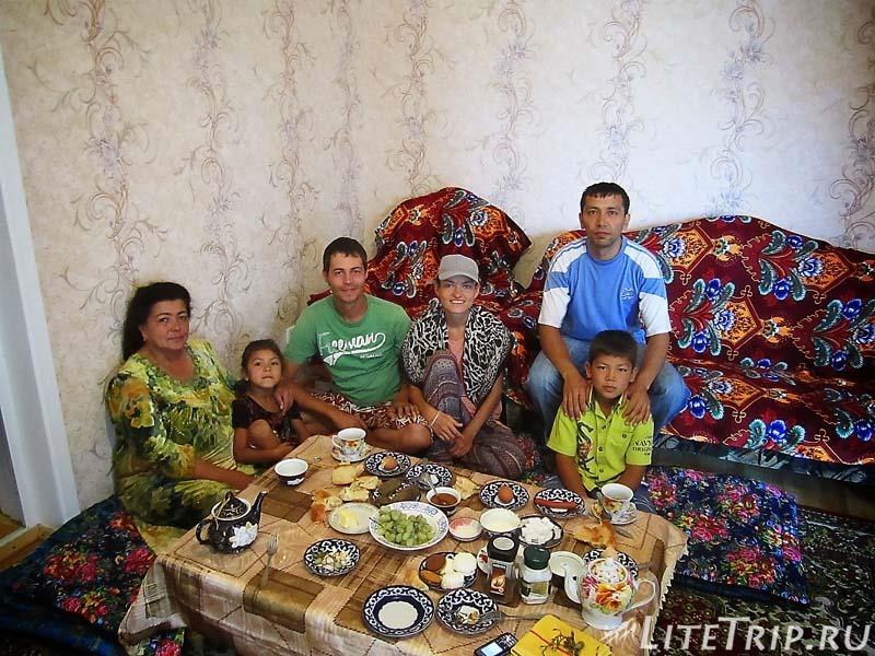 Таджикистан. В гостях у семьи в Худжанде.