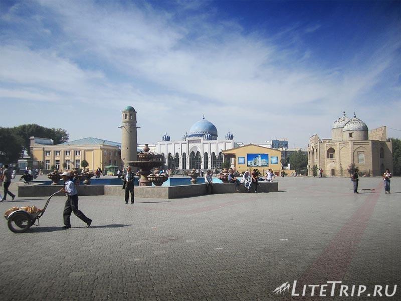 Таджикистан. Худжанд. Комплекс Шейха Муслихиддина.