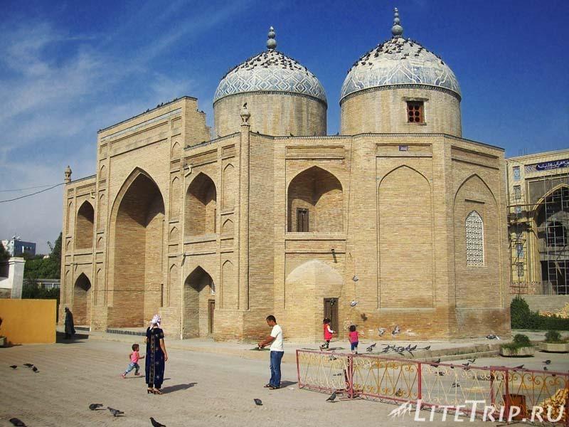 Таджикистан. Худжанд. Комплекс Шейха Муслихиддина - некрополь.