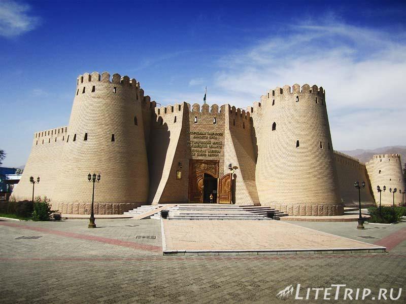 Таджикистан. Худжандская крепость.