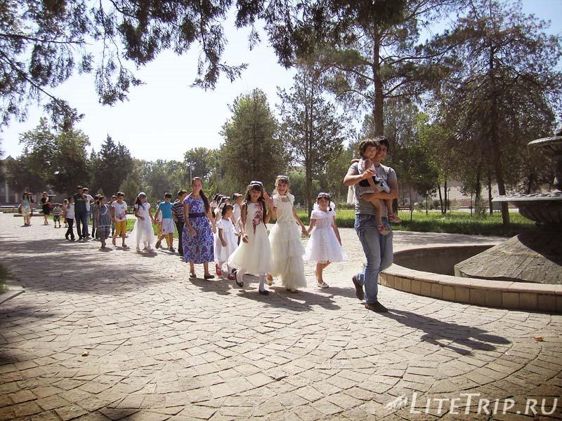 Таджикистан. Худжандская крепость - парк.