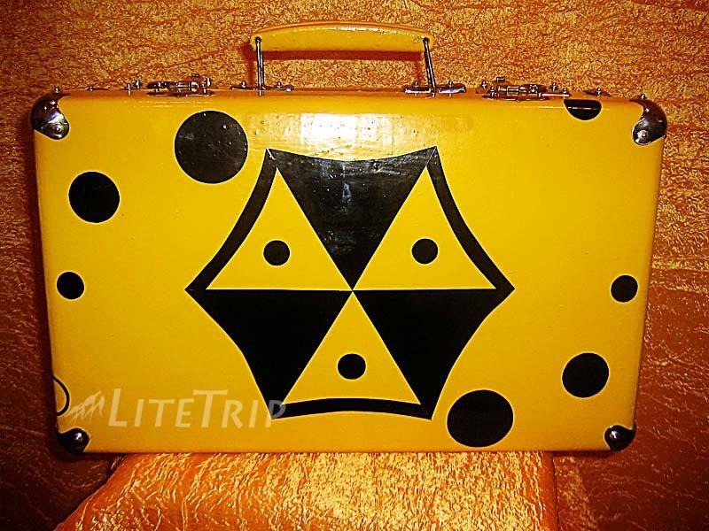 Казантип. Желтый чемодан.