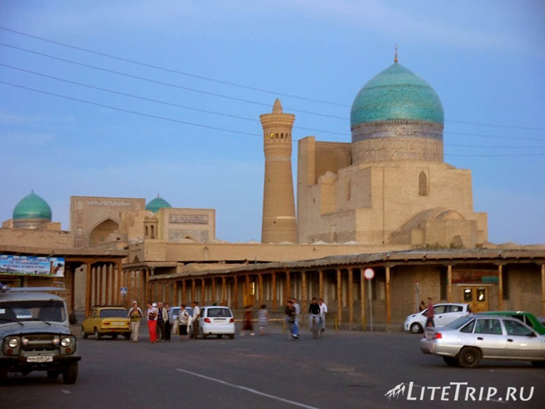 Узбекистан. Бухара - старый город.