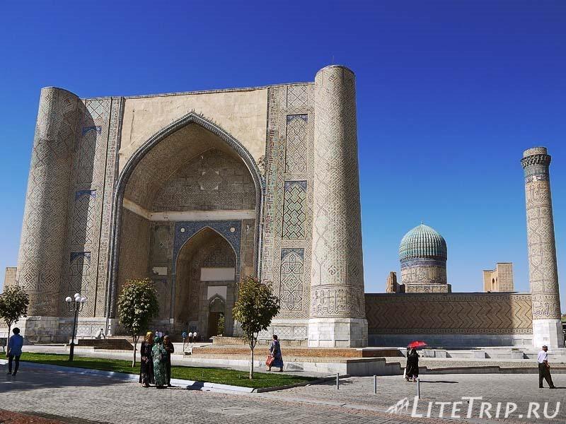 Узбекистан. Самарканд. Мечеть Биби-Ханум.