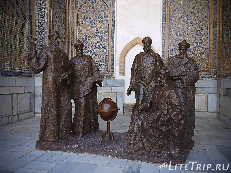 Узбекистан. Самарканд. Регистан - памятник.