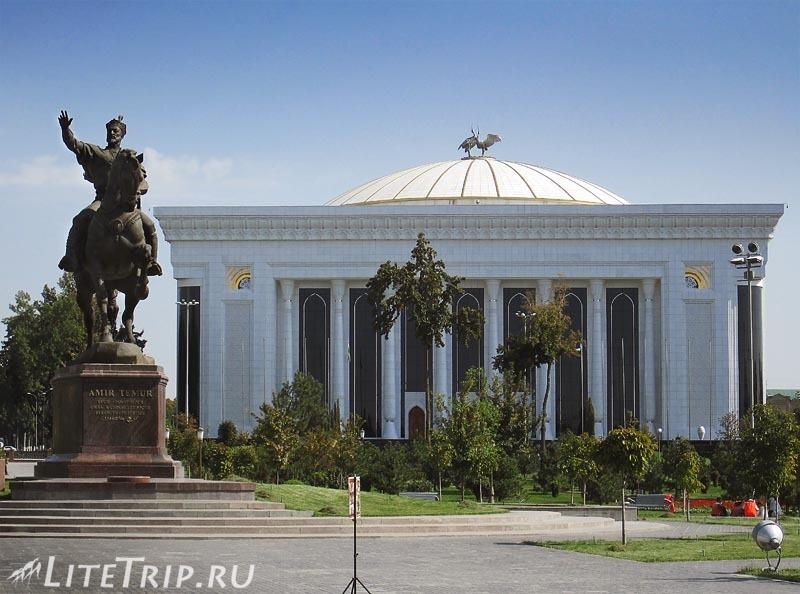 Узбекистан. Ташкент. Дворец форумов.