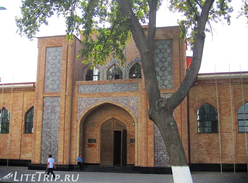 Узбекистан. Ташкент. Корпус Юридического университета.
