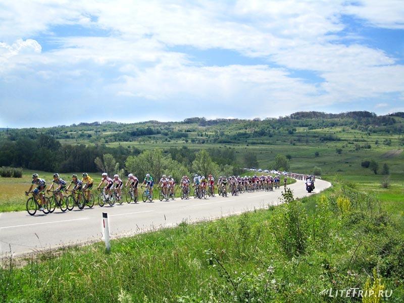 Сербия. Велотрек недалеко от Кладово.