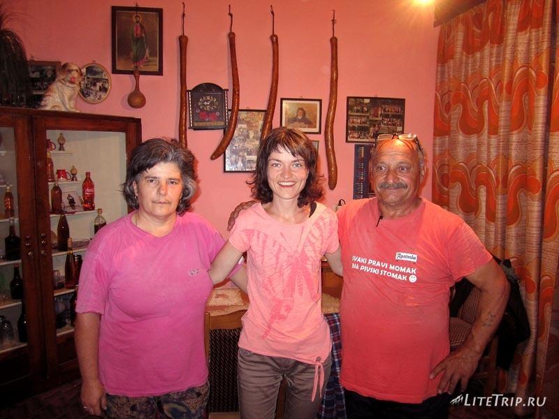 В гостях у сербов