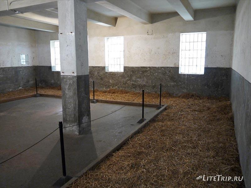 Сербия. Мемориал Црвени Крст в Нише. Первый этаж.