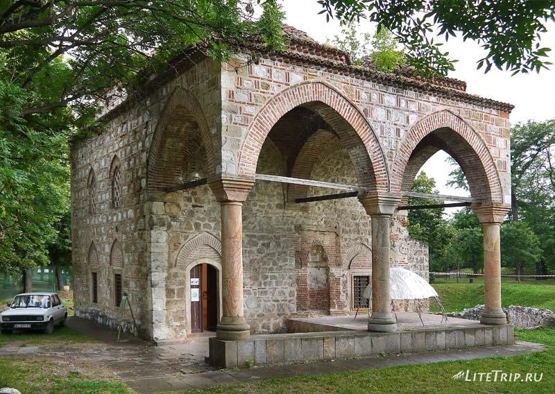 Сербия. Турецкая крепость - парк в Нише. Мечеть