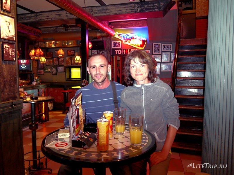Сербия. В баре Нови-Сада.